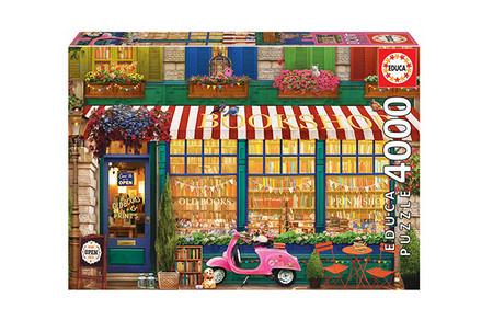 Puzzle 4 000 Piezas Libreria Vintage