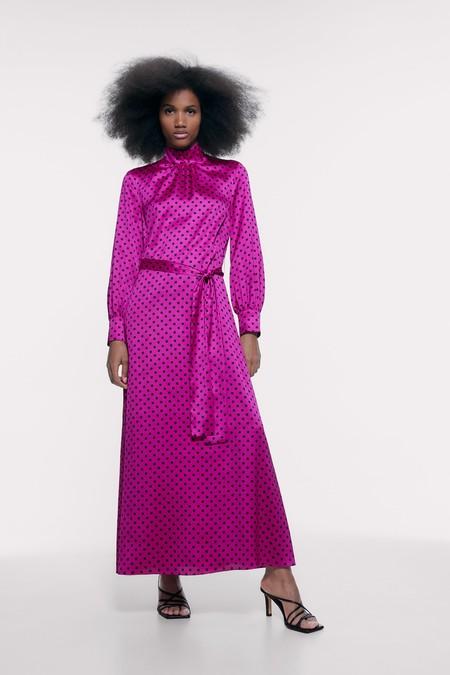 Vestido Fucsia Zara 01