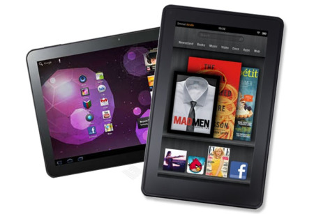 Amazon kindle tab y android