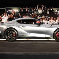 El primer Toyota GR Supra hace pedazos las expectativas y se vende por 39 millones de pesos