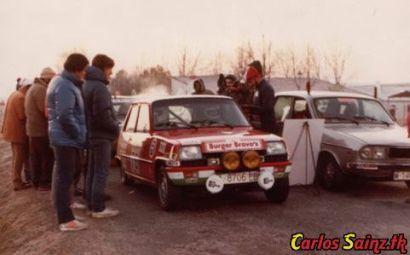 Sainz y el Rally Shalymar...allí empezó todo