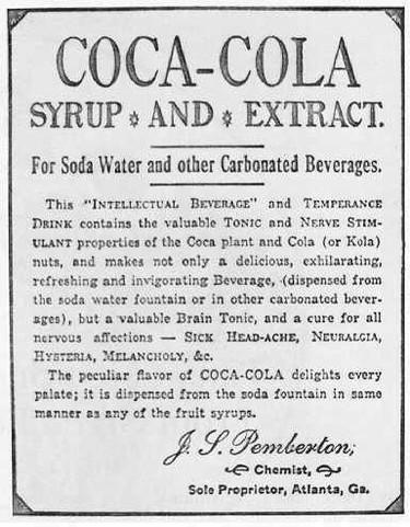 La fórmula secreta de la Coca Cola. Ser o no ser