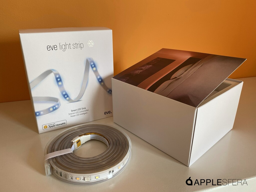 El sistema de tira LED Eve Light Strip ya es compatible con la iluminación adaptativa de iOS 14