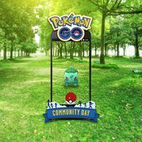 Bulbasaur es el Pokémon que aparecerá con mayor frecuencia durante el Día de la Comunidad de Pokémon GO en marzo