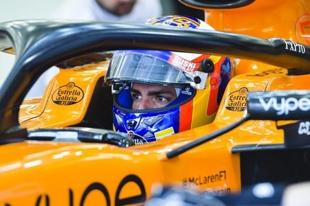 Carlos Sainz Test Barein Formula1