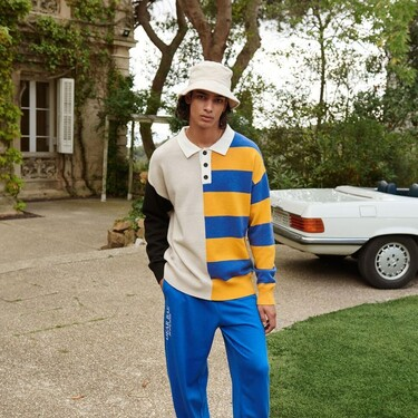 Bloques de color con guiños pop: los suéteres de Bershka que conquistarán tu armario de otoño