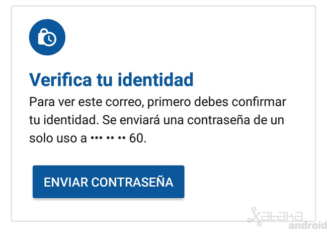 Modo Confidencial Gmail Android