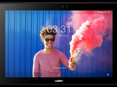 Wolder miTab Pro+,  diseño metálico y autonomía  a precio asequible