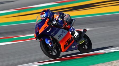 Sasaki Barcelona Moto3 2020