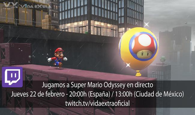Super Mario Odyssey Mundo Globo Directo