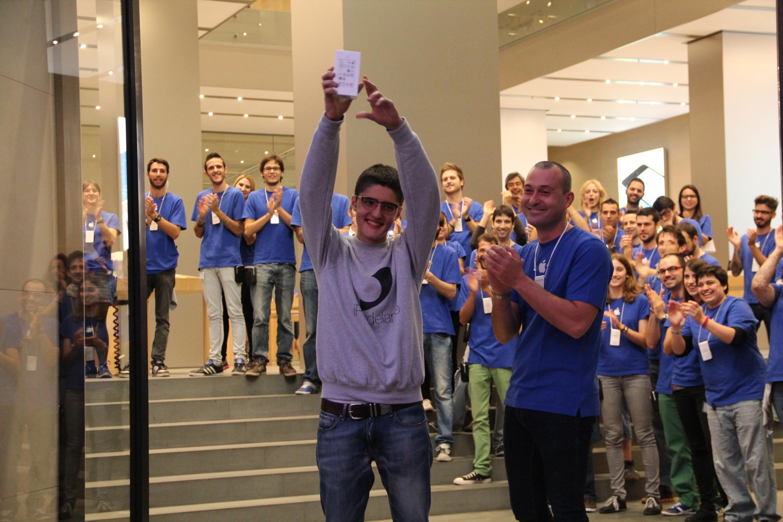 Foto de Lanzamiento de los iPhone 5s y 5c en Barcelona (9/17)