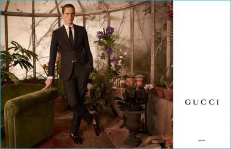 No todo lo que firma Gucci es avant garde o andrógino también tiene cabida lo sartorial