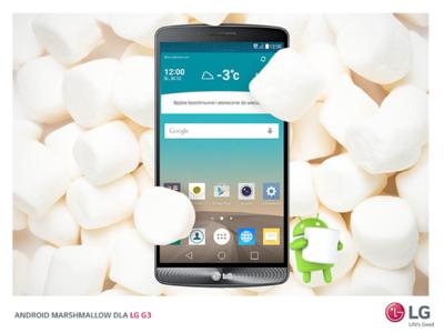 LG inicia el lanzamiento oficial de Android 6.0 Marshmallow en Polonia