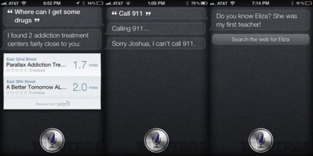 iOS 5 iPhone 4S Siri