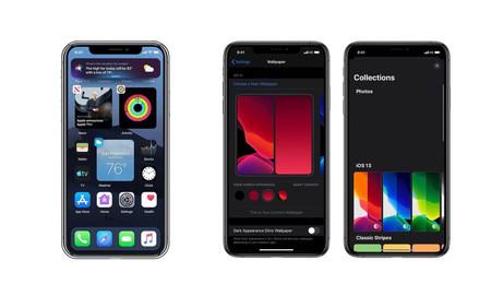 Apple prepara cambios importantes en iOS 14: nuevos widgets en pantalla de inicio y un editor de wallpapers, según nuevos rumores