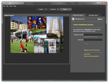 Deep Zoom Composer, haz composiciones de imágenes a alta resolución en Silverlight