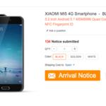 Gearbest publica por error el Xiaomi Mi5 y confirma todo lo filtrado hasta ahora