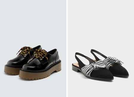 zapatos planos lowcost pull&bear