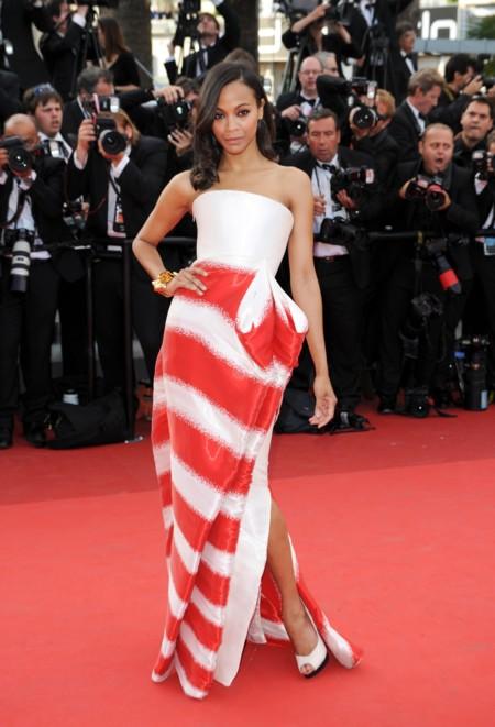 Zoe Saldana Festival de Cannes 2011