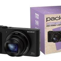 En Fnac tienes un interesante pack con la compacta Sony Cybershot DSC-HX90V y complementos por sólo 339,90 euros