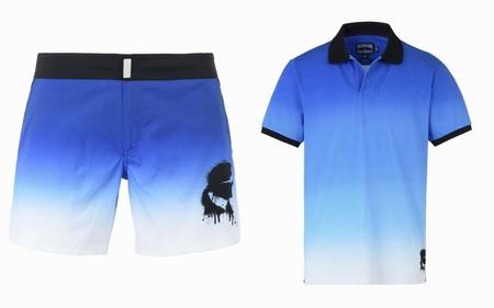 Karl Lagerfeld Nos Acompana A La Playa Con Sus Basicos Swimwear De La Mano De Vilebrequin