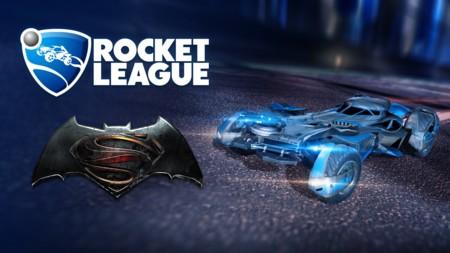 """El nuevo batmóvil repartirá """"justicia"""" en  Rocket League al estilo de Gotham City"""