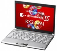 Toshiba Dynabook RX2/WAJ, con disco SSD de 512 GB