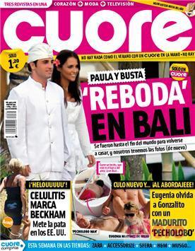 Busta y Paula vuelven a casarse