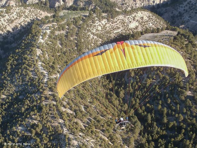Foto aérea en paramotor: La aventura de volar y hacer fotografías al tiempo
