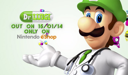 'Dr. Luigi' llegará a Wii U el próximo 15 de enero