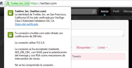 Twitter ahora permite utilizar HTTPS durante toda la sesión