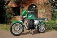 Greenfly, la moto propulsada por gas