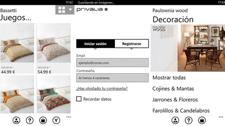 Privalia Windows Phone
