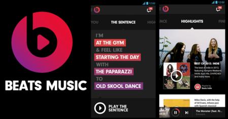 Beats Music de Android recibe su primer actualización de la mano de Apple