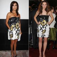 Vestido de Gucci: ¿Jennifer Garner o Eva Longoria?