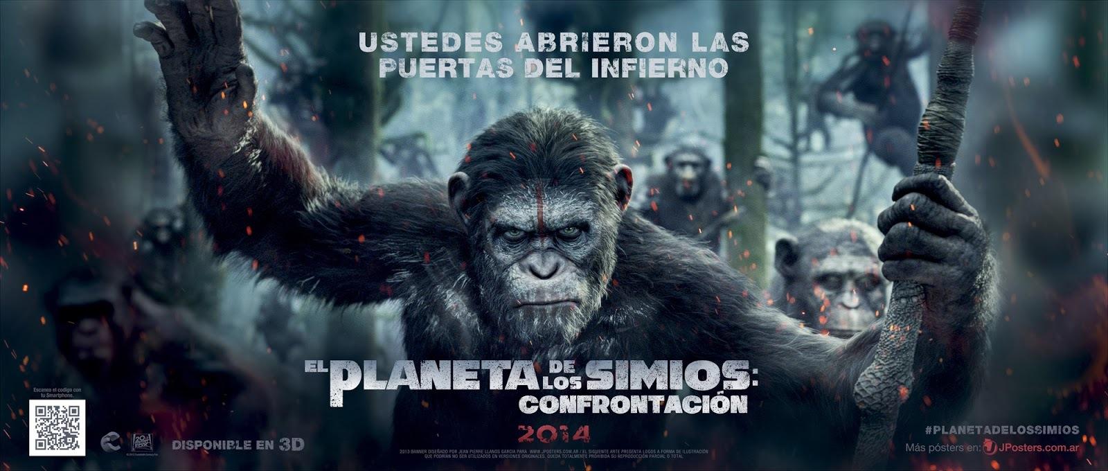 Foto de 'El amanecer del planeta de los simios', carteles (9/9)