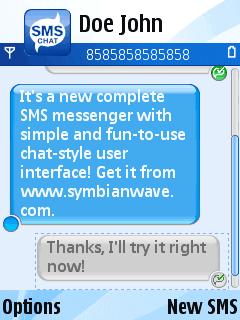 SMS Chat, maneja tus conversaciones