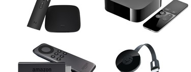 Chromecast vs. Xiaomi Mi Box vs. Fire TV Stick vs. Apple TV: con qué servicios y plataformas son compatibles
