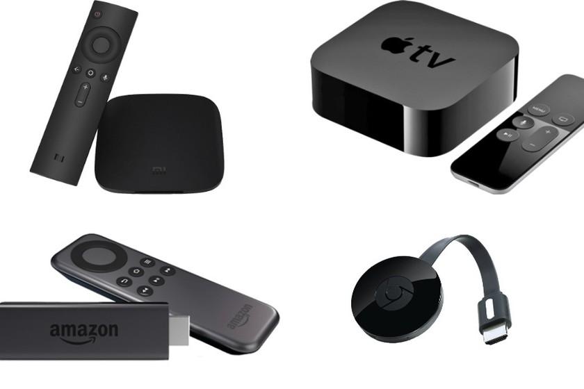 Chromecast Vs Xiaomi Mi Box Vs Fire Tv Stick Vs Apple