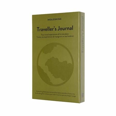 Moleskine - Diario de Viaje, Cuaderno Temático, Cuaderno de Tapa Dura para Organizar y Recordar Tus Viajes, Tamaño Grande 13 x 21 cm, 400 Páginas