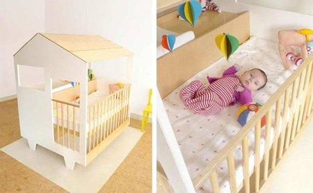 Nina's House, la cuna del bebé dentro de una casita