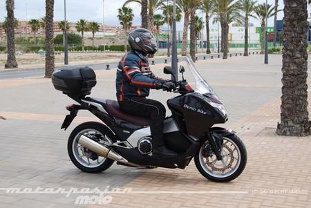 Honda Integra, prueba (conducción en autopista y carretera)