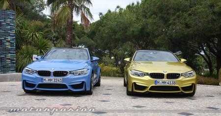 BMW M3 y BMW M4 frontales