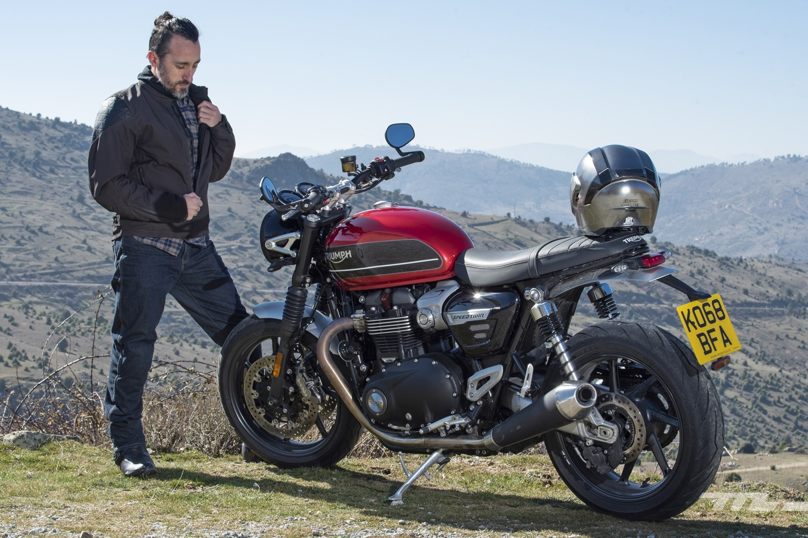 Foto de Triumph Speed Twin 2019, prueba (17/80)