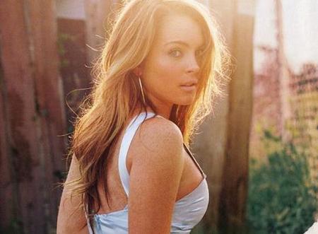 Lindsay Lohan también es actriz