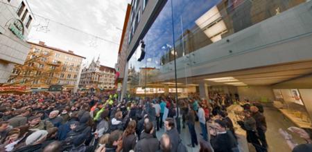 Imagen de la semana: nueva Apple Store en Munich