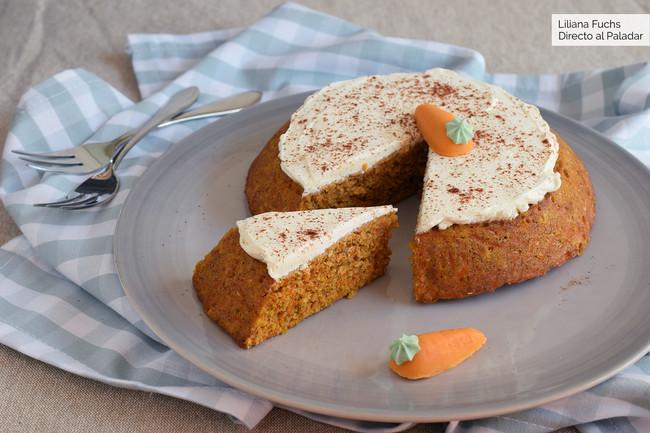 Bizcocho de zanahoria para dummies: receta fácil y rápida en microondas