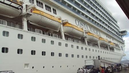 La demanda de cruceros cae un 38% con la crisis