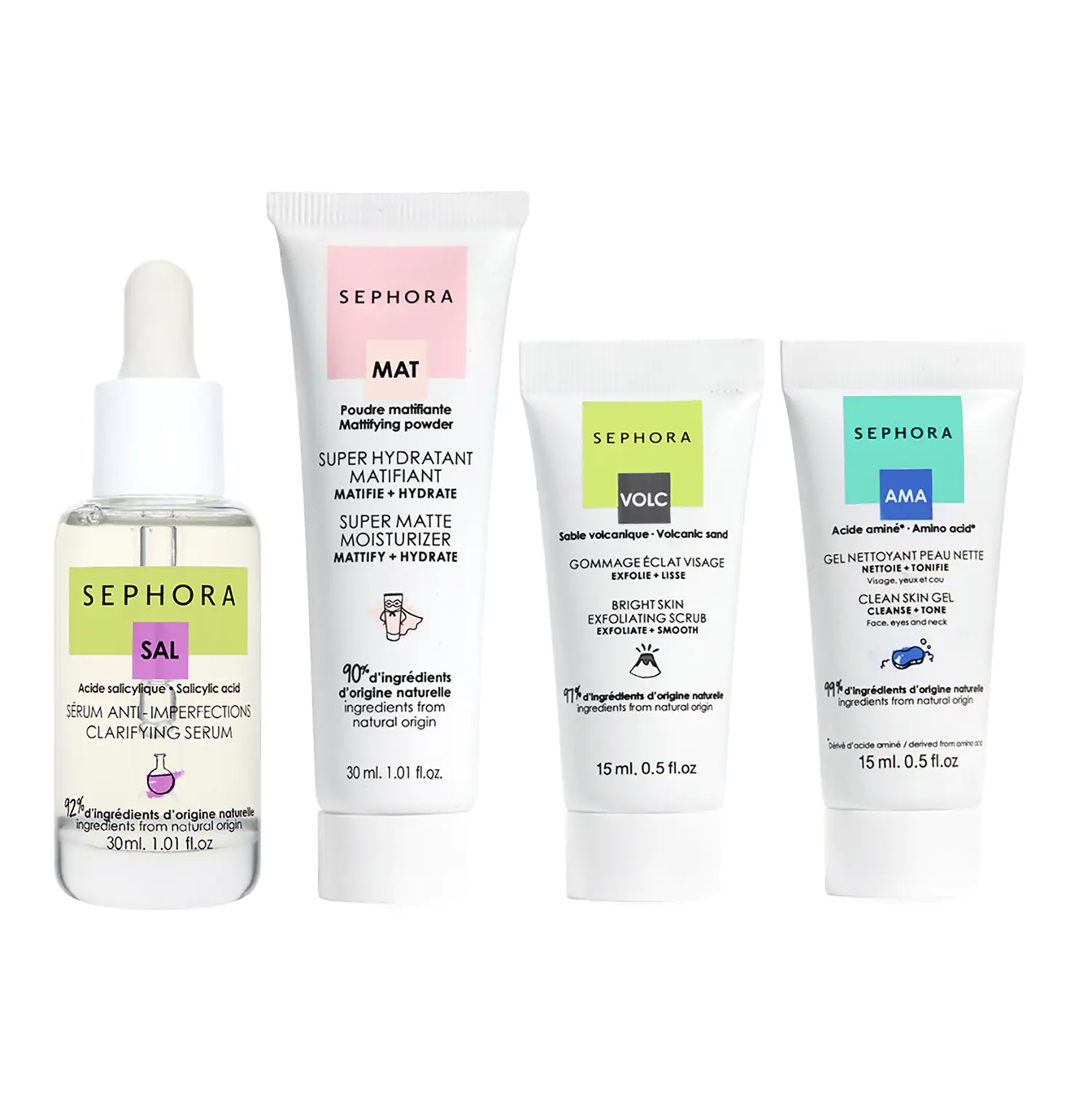 Kit Anti-Imperfections de Sephora Collection
