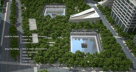 A 10 años del 11-S, se inaugura parte del Memorial en Nueva York